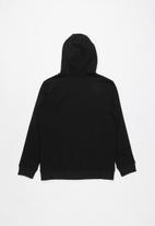 Vans - Vans classic zip hoodie boys - black & white