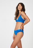 Cotton On - Sporty femme bikini brief  - blue