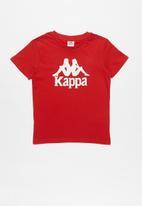 KAPPA - Authentic estessi tee - red