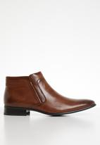 Gino Paoli - Jaime slip-on boots - tan