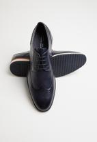 Gino Paoli - Cameroon formal lace-up brogue - navy