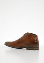 Gino Paoli - Caleb lace-up boot - tan