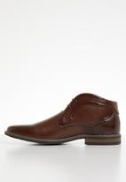 Gino Paoli - Caleb lace-up boot - brown