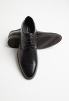 Gino Paoli - Jules formal lace-up - black