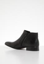 Gino Paoli - Caleb lace-up boot - black