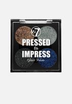 W7 Cosmetics - Pressed to impress glitter palette - icon