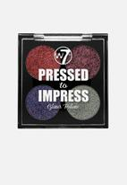 W7 Cosmetics - Pressed to impress glitter palette - all the rage