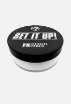 W7 Cosmetics - Set it up finishing powder