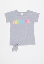 Rip Curl - Rainbow raglan - grey