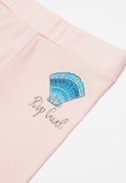 Rip Curl - Shell leggings - pink