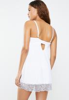Sissy Boy - Underwire chemise - white