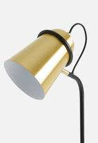 Sixth Floor - Hellos floor lamp - gold