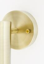 Sixth Floor - Savoy wall light - brass