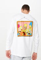 Cotton On - The Simpsons Tbar collaboration tee - white