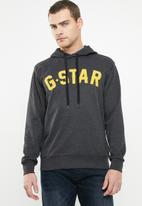 G-Star RAW - Halgen hoodedsweater - black