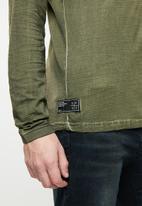 S.P.C.C. - The d.m.z long sleeve tee - green