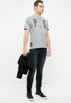 S.P.C.C. - Oversized pique tee - grey