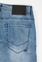 S.P.C.C. - Trench signature jeans - blue