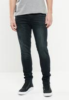 S.P.C.C. - Trench slim fit jeans - black