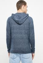 Only & Sons - Alexo 12 raglan hooded knit - blue