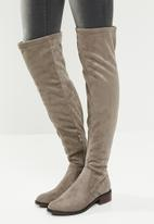 ALDO - Over-the-knee boot - grey