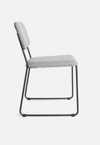 Sixth Floor - Cornelia dining chair - light grey