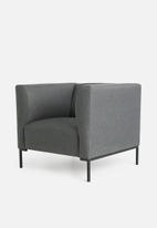 Sixth Floor - Aiden single seater - grey