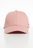 Jack & Jones - Basic logo baseball cap - pink