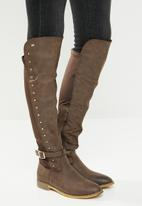 Miss Black - Gypsy boot - chocolate