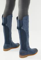 Miss Black - Below the knee boot - navy