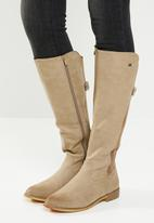 Miss Black - Rainer boot - taupe