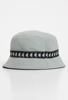 KAPPA - Etna reversible hat - grey & black