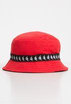 KAPPA - Etna reversible hat - red & black