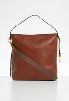Fossil - Maya large bag - brown