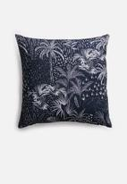 Grey Gardens - Arden cushion cover - black