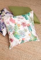 Grey Gardens - Harlow cushion cover - multi