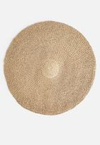 Sixth Floor - Water hyacinth round rug