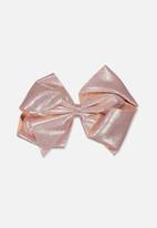 Cotton On - Statement bows - rose gold