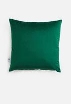 Sixth Floor - Magical cushion cover - emerald
