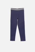 Cotton On - Delevigne pant - navy & silver