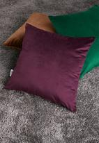 Sixth Floor - Magical cushion cover - plum
