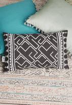 Sixth Floor - Belle cushion cover - black