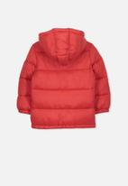 Cotton On - Frankie puffer jacket - red