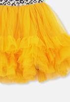 Cotton On - Trixiebelle tulle skirt - yellow