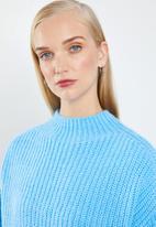MANGO - Oversized chunky knit - blue