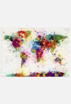 artPause - World map - colour