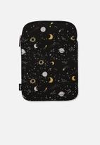 Typo - Tablet galaxy sleeve 10 inch - black & gold