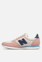 New Balance  - WL220AA 70's classic running - pink & blue
