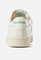 Reebok Classic - Club C 1985 tv - chalk, paperwhite & glen green