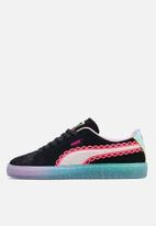 PUMA Select - Suede spohia webster - puma black & fiery coral